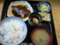 サバ煮付定食(700円)