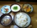 麦とろ定食(850円)