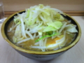 つけ麺[つけ汁](750円)自動ヤサイ