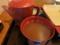 熱々の蕎麦湯