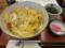 カツ丼(800円)+ごはん大盛り無料