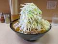 味噌ラーメン(750円)ニンニク+自動ヤサイ