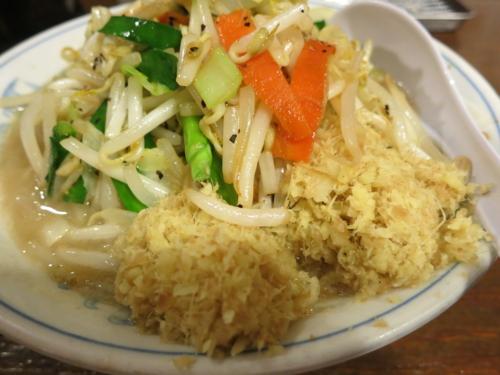 タンメン+生姜ダブル