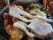 ポテトフライと炙りチャーシューと唐揚げ