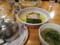 つけ麺醤油味(750円)+半熟煮玉子(100円)