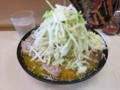 味噌ラーメン(750円)自動ヤサイ・ニンニク[上]