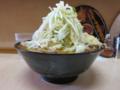 味噌ラーメン(750円)自動ヤサイ・ニンニク[横]