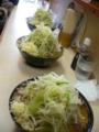 味噌ラーメン(750円)自動ヤサイ・ニンニク×三