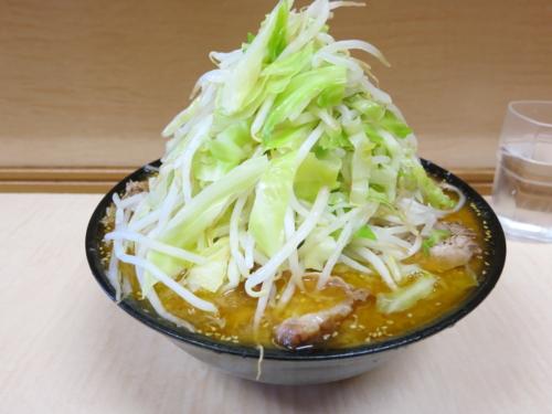 味噌ラーメン(750円)+頷き自動ニンニク・ヤサイ