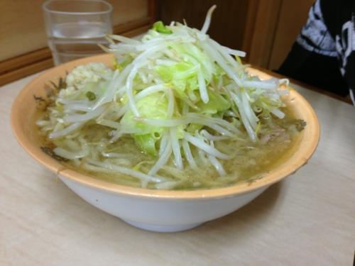 ミニラーメン(550円)+ニンニク