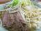 今日のブタと麺とヤサイ