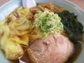 ワンタン麺の具