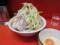 小豚(750円)ヤサイ+生卵(50円)