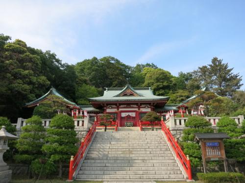 足利織姫神社拝殿