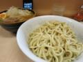 つけ麺(750円)ヒヤモリ・自動ヤサイ