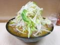 味噌ラーメン(750円)ニンニク・自動ヤサイ