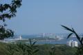 八角堂広場から南側の海を望む