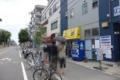 食後のラーメン二郎京成大久保店の行列