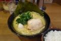 醤油豚骨ラーメン(720円)+ライス(100円)