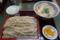 かつ丼セット(700円)+蕎麦大盛り(100円)