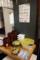 納豆のサービスと薬味コーナー