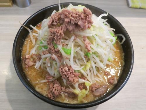 大盛みそらーめん(850円)太麺・ヤサイ【上】