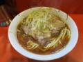 麺少なめ(700円)ヤサイ