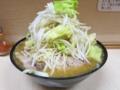 味噌ラーメン(750円)自動ヤサイ