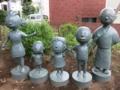 サザエさん公園の銅像