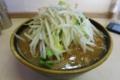味噌つけ麺[汁]自動ヤサイ