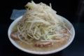 豚入りラーメン・大盛り(900円)ヤサイ・アブラ・カラメ[上]