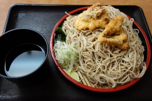 もりの特盛り(520円)+舞茸(100円)