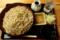 恵み蕎麦【特盛り650g】(800円)+納豆・モーニングサービス(0円)
