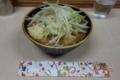 つけ麺(汁)ニンニク・自動ヤサイ