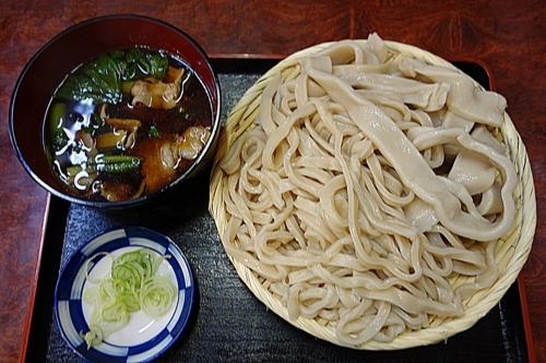 肉もりうどん[合盛・冷麺](650円)+大盛(100円)