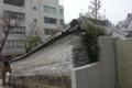 築地塀(練塀)