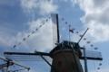 オランダ風車下