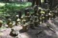 常楽寺の五輪塔群2