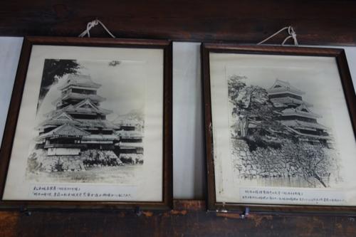 松本城の古写真