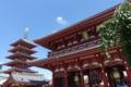 五重塔と宝蔵門
