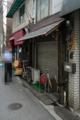 開店直前の堀留屋