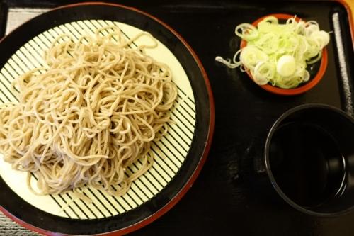 特選 牡丹蕎麦 小盛(500円)