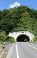 大原手前のトンネル