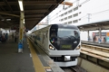 錦糸町駅に入線するあずさ3号