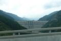 ループ橋からみた滝沢ダム