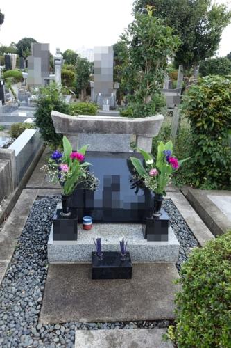 母方の祖父母・叔父墓
