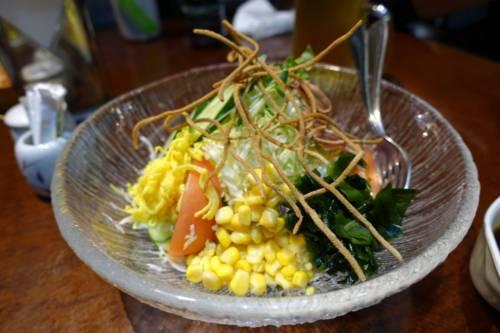 うちくらそばサラダ(900円+税)