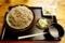 特選 牡丹蕎麦【大盛り500g】(800円)+納豆(モーニングサービス0円)