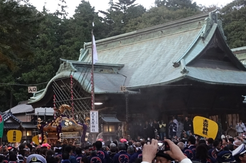 大原神社の昇殿