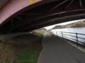 花見川CR3 橋をくぐる